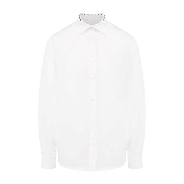 Хлопковая рубашка Valentino