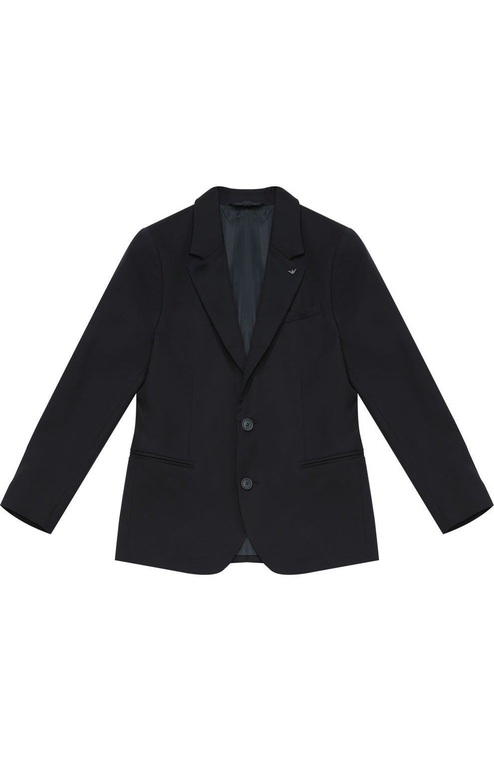 Шерстяной однобортный пиджак | Фото №1