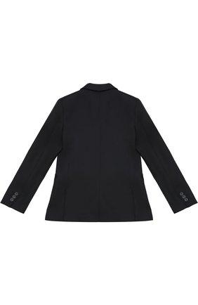 Шерстяной однобортный пиджак | Фото №2
