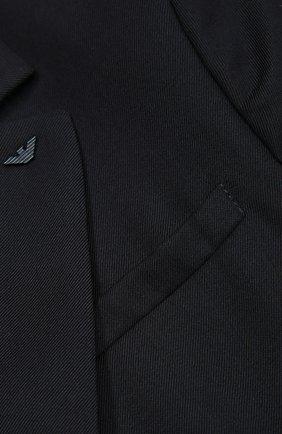 Шерстяной однобортный пиджак | Фото №3