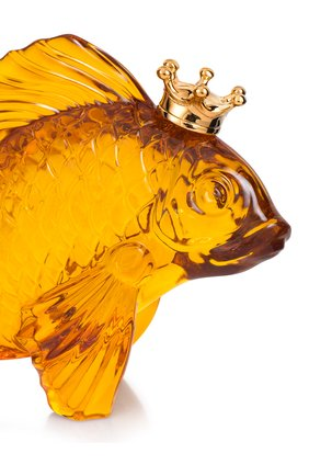 Мужского скульптура золотая рыбка в короне BACCARAT золотого цвета, арт. 2 811 135 | Фото 2