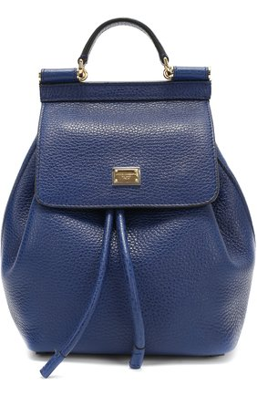 Кожаный рюкзак Sicily Backpack small | Фото №1