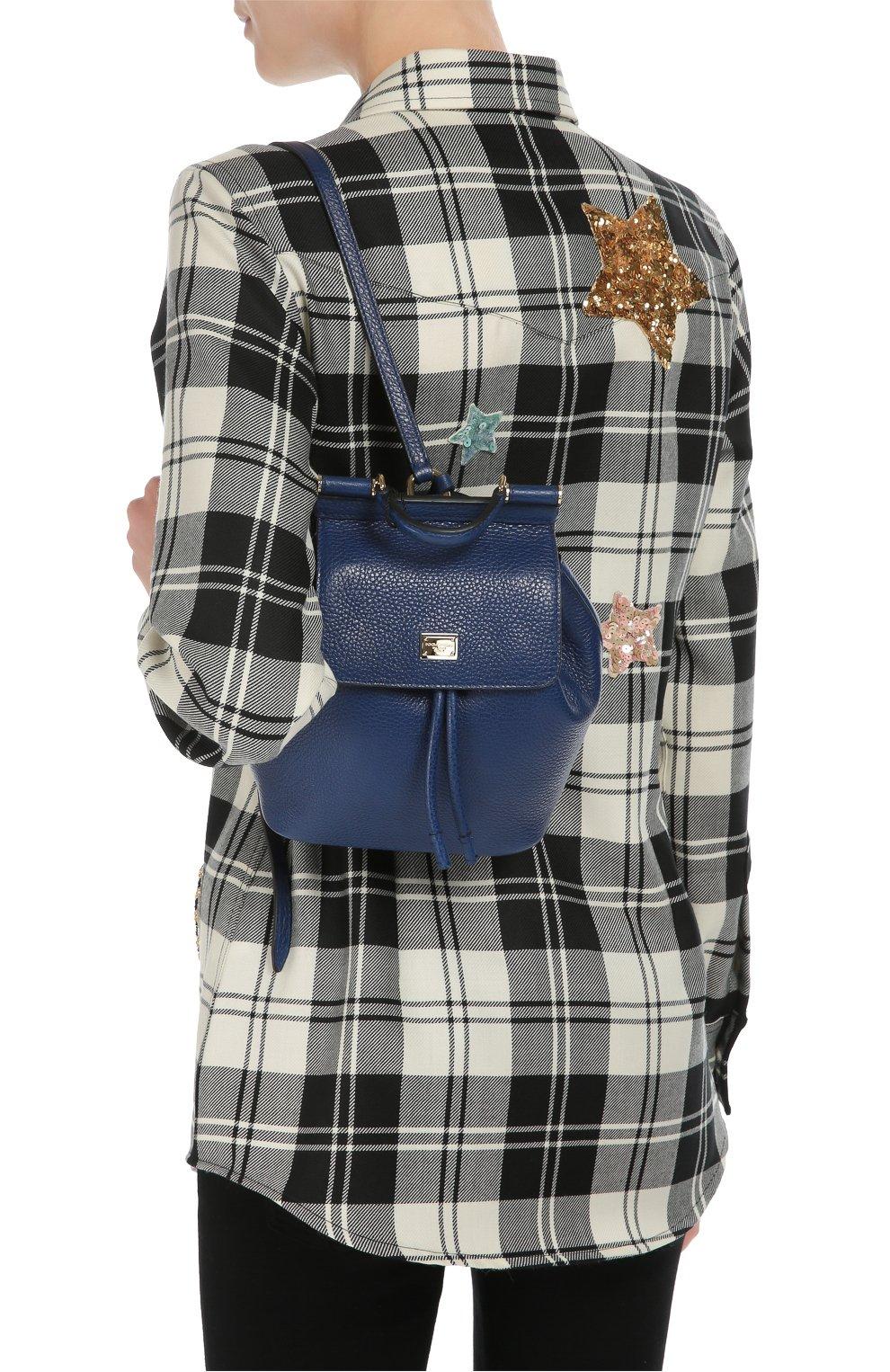 Кожаный рюкзак Sicily Backpack small | Фото №5