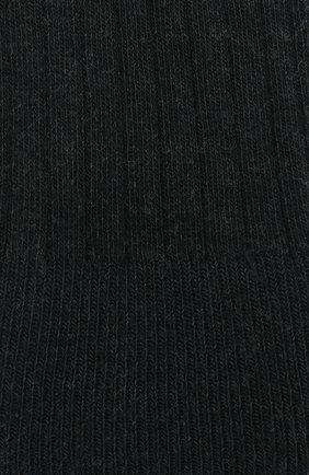 Детские колготки в полоску FALKE темно-серого цвета, арт. 13642 | Фото 2