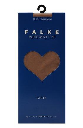 Детские колготки pure matt 30 FALKE бежевого цвета, арт. 13630 | Фото 1