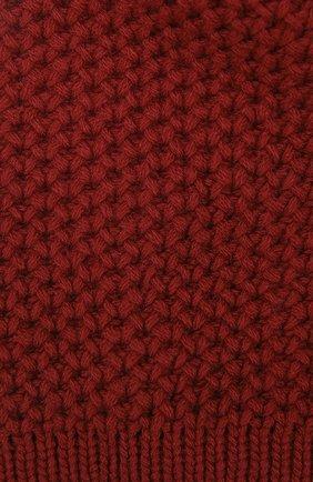 Женская кашемировая шапка INVERNI бордового цвета, арт. 0097CM | Фото 2