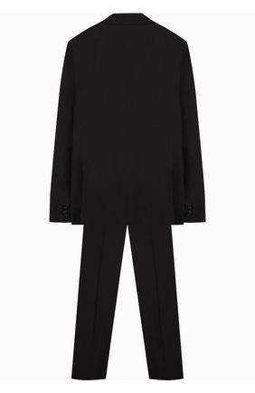 Детский шерстяной костюм с пиджак на двух пуговицах DAL LAGO черного цвета, арт. N010/1011/XS-L | Фото 2