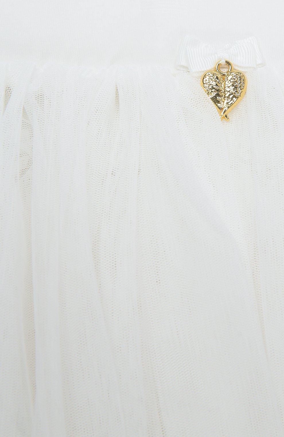 Многослойная юбка с декором | Фото №2