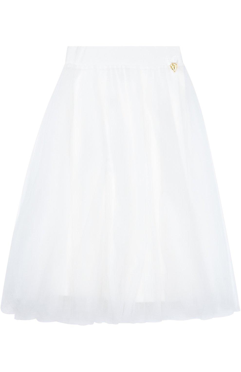 Пышная многоярусная юбка | Фото №1