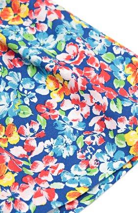 Хлопковая юбка с цветочным принтом   Фото №2