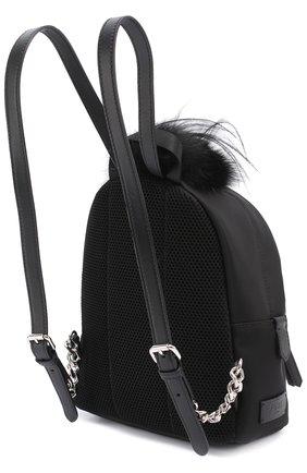 Рюкзак Bag Bugs Mini с отделкой из меха и комбинированной кожи | Фото №3