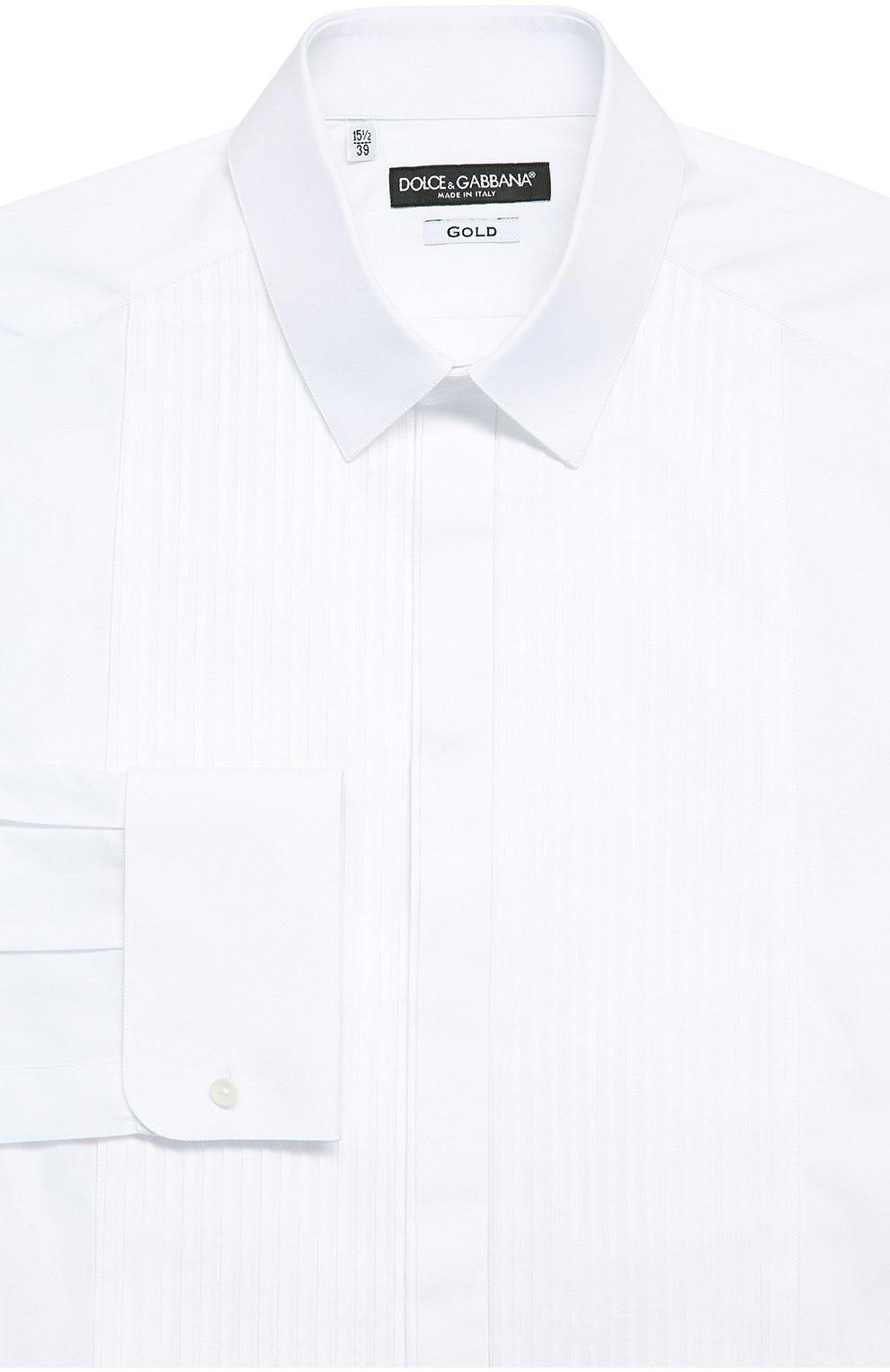 Хлопковая сорочка под смокинг | Фото №1
