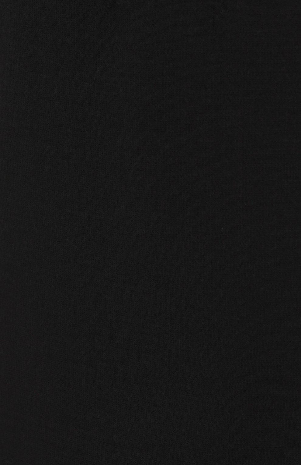 Мини-юбка с широким поясом Dolce & Gabbana черная | Фото №5