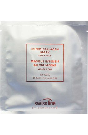 Маска для лица и шеи Super-Collagen Swiss Line | Фото №1