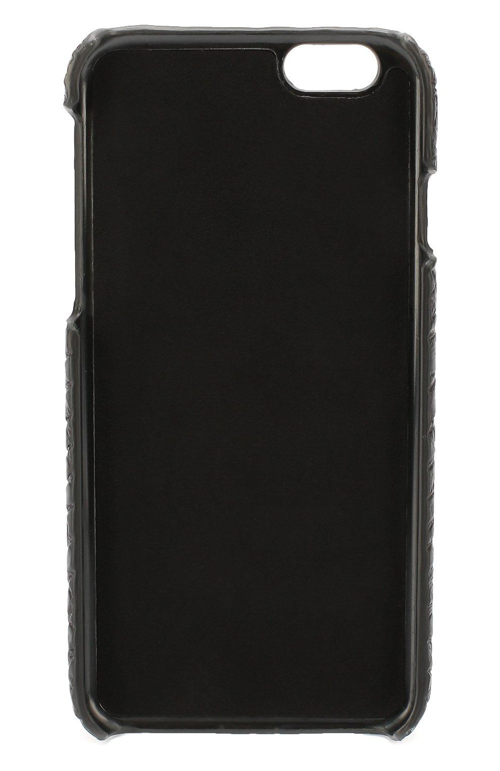 Чехол для iPhone 6/6S из кожи крокодила Dolce & Gabbana  | Фото №2