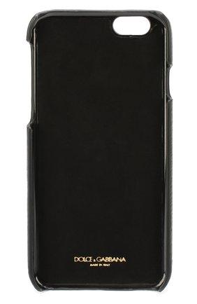 Кожаный чехол для iPhone 6/6S с аппликацией DG Family | Фото №2