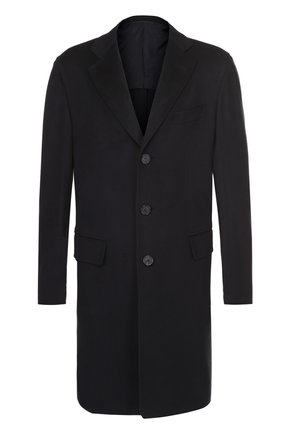Однобортное пальто из шерсти викуньи | Фото №1