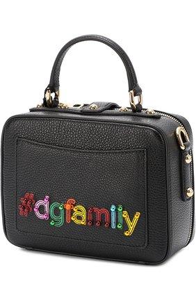 Сумка Dolce Soft с аппликацией DG Family   Фото №3
