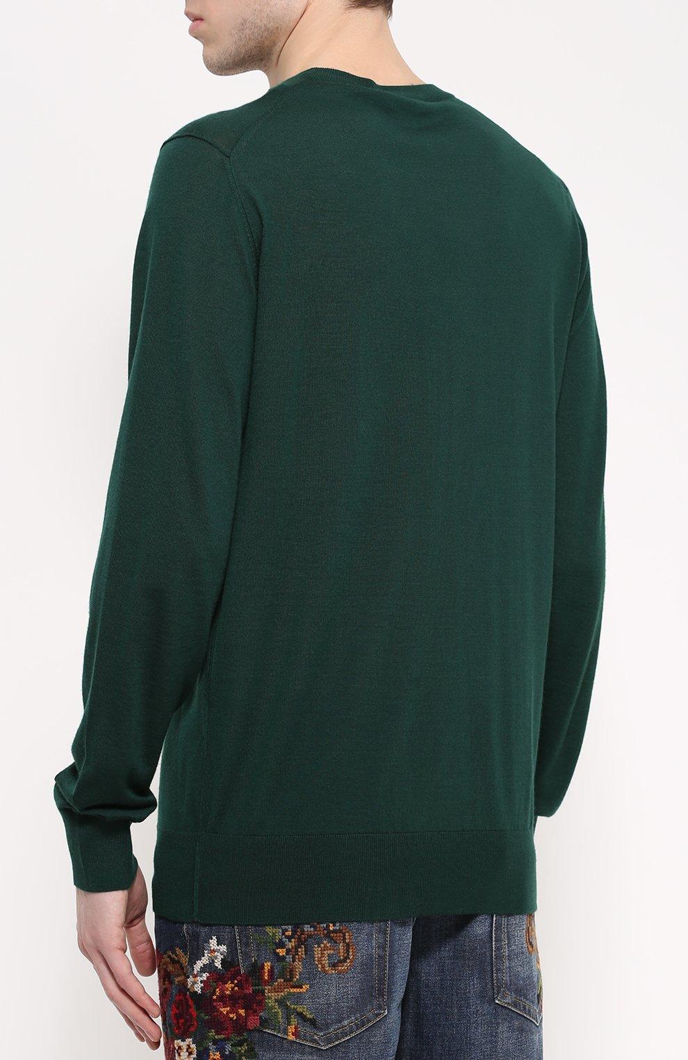 Кашемировый джемпер с вышивкой | Фото №4