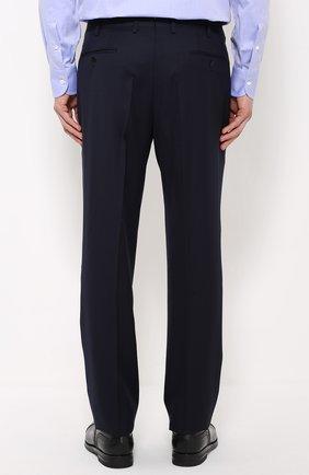 fb56e106bdc2 Мужской темно-синий шерстяной костюм-тройка BRIONI — купить за ...