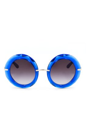 Солнцезащитные очки Dolce & Gabbana синие | Фото №2