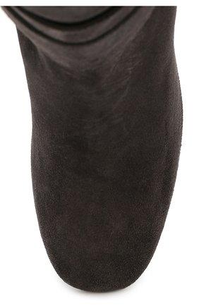 Замшевые сапоги Gomma с ремешками | Фото №5