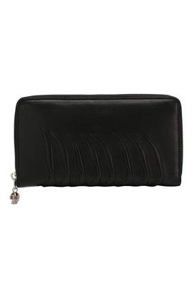 Кожаное портмоне Continental  на молнии с декоративной отделкой | Фото №1