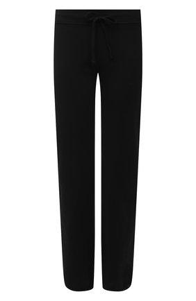 Женские хлопковые джоггеры JAMES PERSE черного цвета, арт. WXA1453 | Фото 1