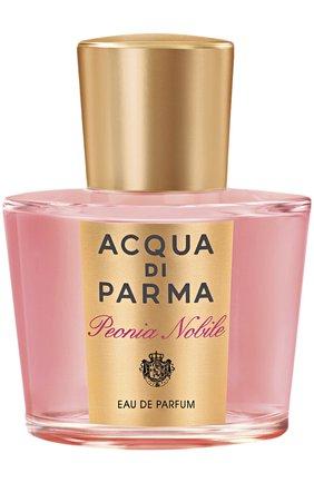 Женский парфюмерная вода peonia nobile ACQUA DI PARMA бесцветного цвета, арт. 40001 | Фото 1