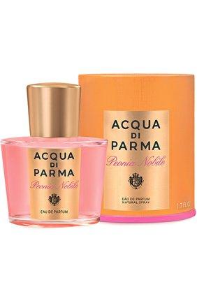 Женский парфюмерная вода peonia nobile ACQUA DI PARMA бесцветного цвета, арт. 40001 | Фото 2