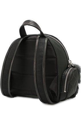 Рюкзак с отделкой из меха | Фото №3