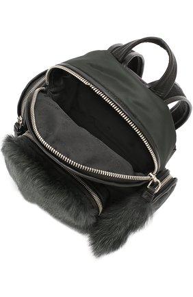 Рюкзак с отделкой из меха | Фото №4