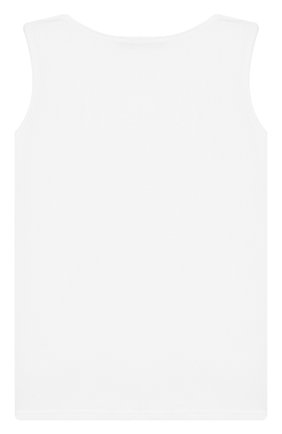 Детская майка LA PERLA белого цвета, арт. 44725/2A-6A | Фото 2