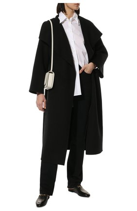 Женские кожаные сабо princetown с пряжкой-трензелем GUCCI черного цвета, арт. 423513/BLM00 | Фото 2 (Подошва: Плоская; Каблук высота: Низкий; Материал внутренний: Натуральная кожа; Каблук тип: Устойчивый)