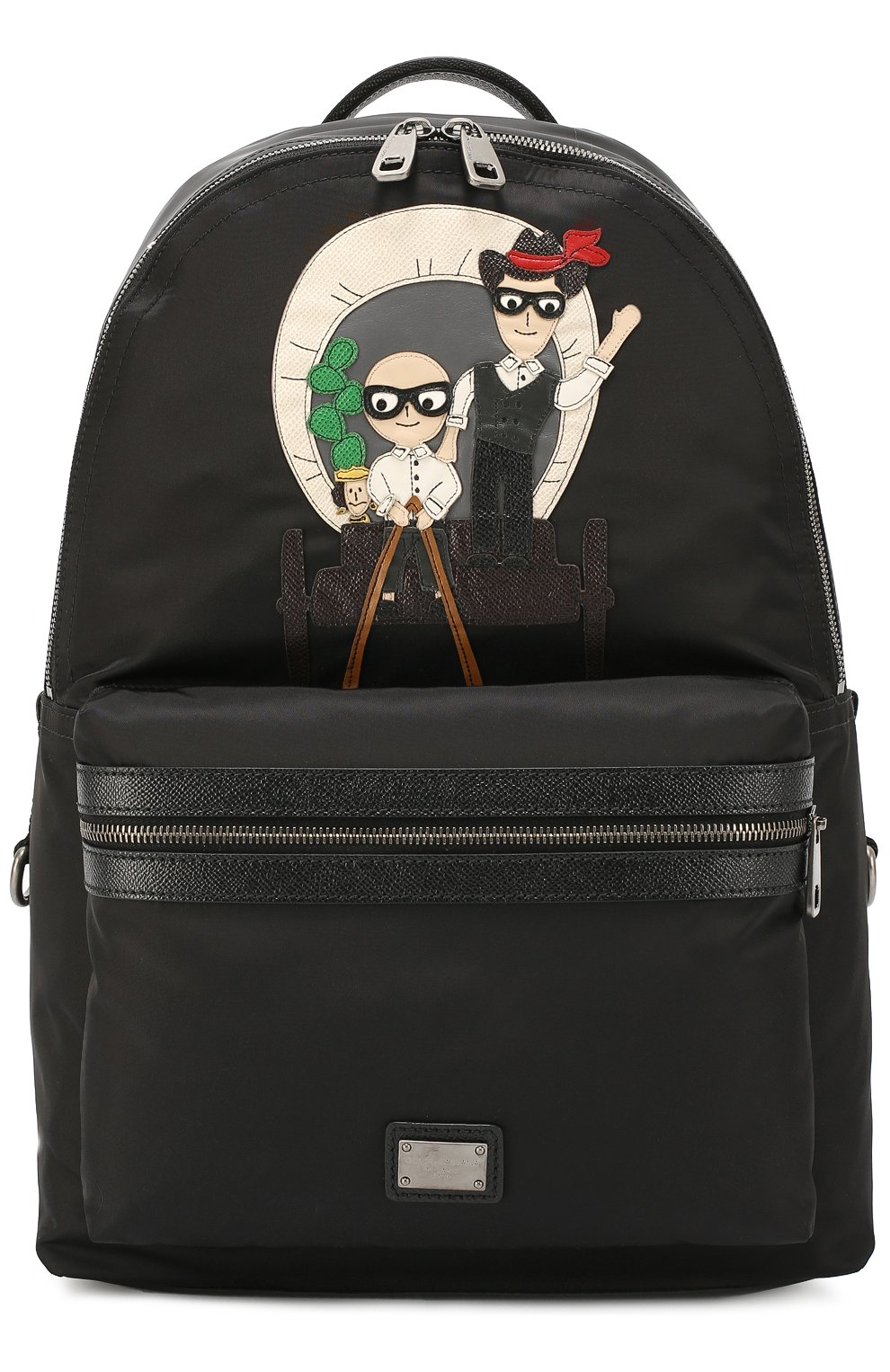 Рюкзак Vulcano с нашивками | Фото №1