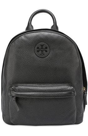 Кожаный рюкзак с логотипом | Фото №1