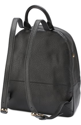 Кожаный рюкзак с логотипом | Фото №3