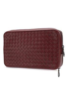 Кожаный футляр для документов с плетением intrecciato | Фото №2