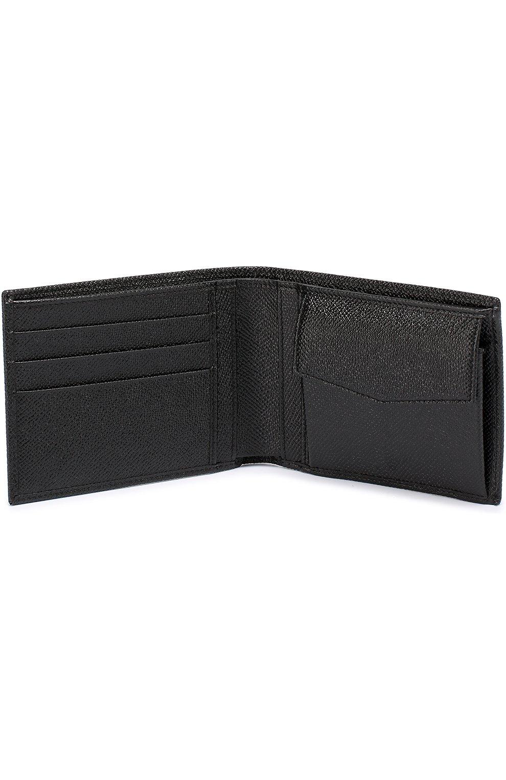 Кожаное портмоне с отделением для кредитный карт | Фото №3