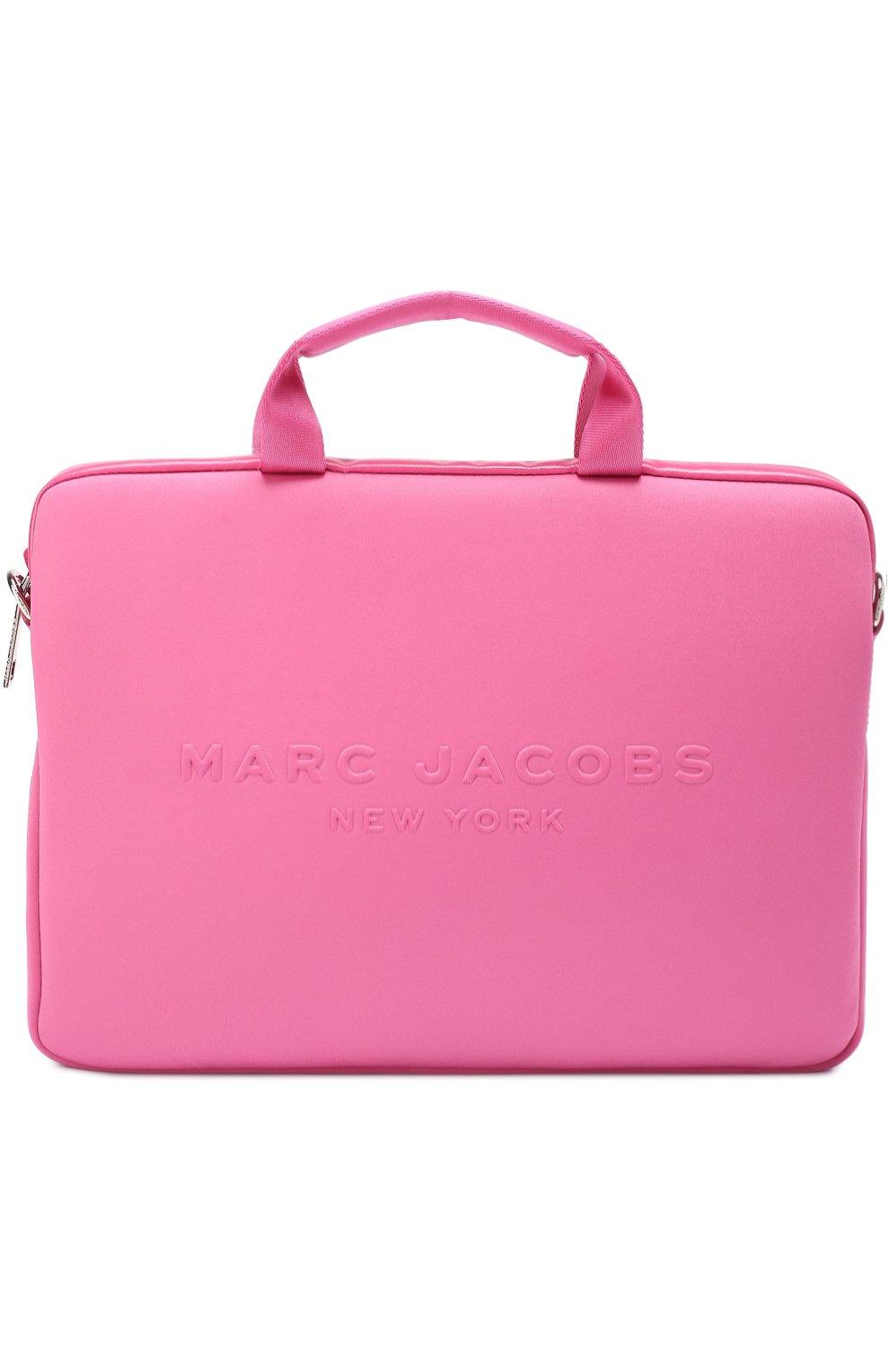 33a205735024 Фото Мужская фуксия сумка для ноутбука с логотипом бренда MARC JACOBS ...
