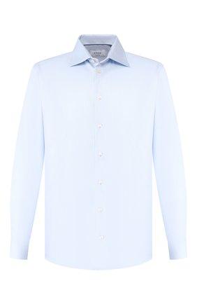 Мужская хлопковая сорочка с воротником акула ETON голубого цвета, арт. 3100 79311 | Фото 1