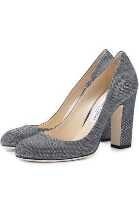 Туфли Bille 100 из металлизированного текстиля | Фото №1