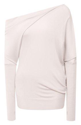 Кашемировый пуловер асимметричного кроя | Фото №1
