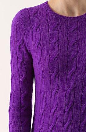 Кашемировый пуловер | Фото №5