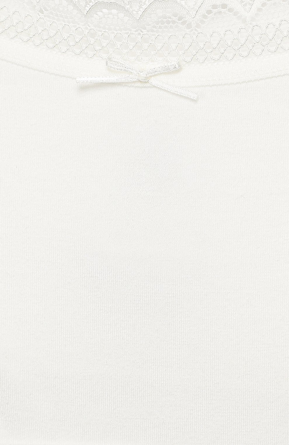 Топ с кружевной отделкой | Фото №3
