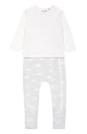 Пижама из хлопка с принтом | Фото №1