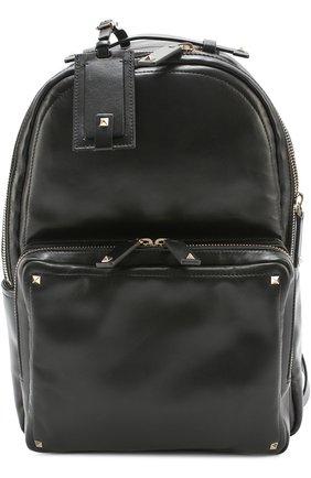Кожаный рюкзак Valentino Garavani Rockstud   Фото №1