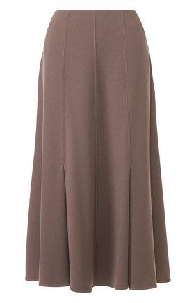 Расклешенная юбка-миди | Фото №1