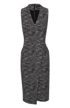 Платье с запахом и V-образным вырезом | Фото №1