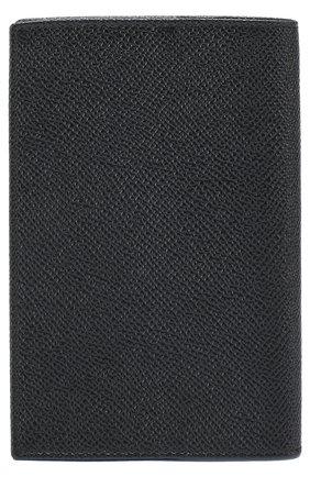 Комплект из обложки для паспорта и футляра для документов Dolce & Gabbana черного цвета | Фото №3